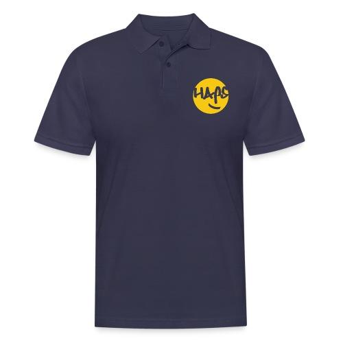 HAPS Yellow Logo - Men's Polo Shirt