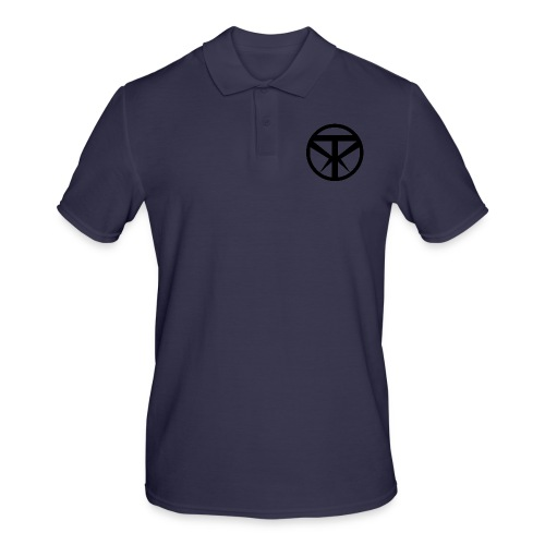 Tridex Logo Black - Men's Polo Shirt