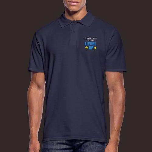 Geburtstag | Aufstieg Game Gaming - Männer Poloshirt
