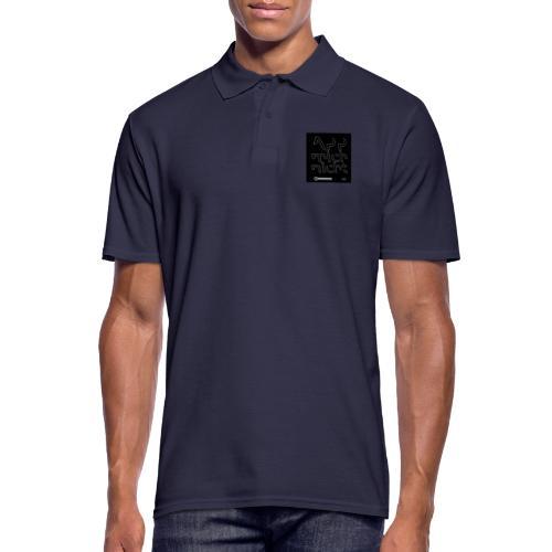 Design App mich nicht 4x4 - Männer Poloshirt