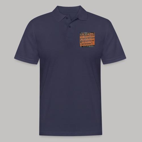 Verbot - Männer Poloshirt