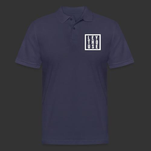 LEYTHOUSE Square white - Men's Polo Shirt