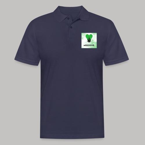 weedlove - Männer Poloshirt