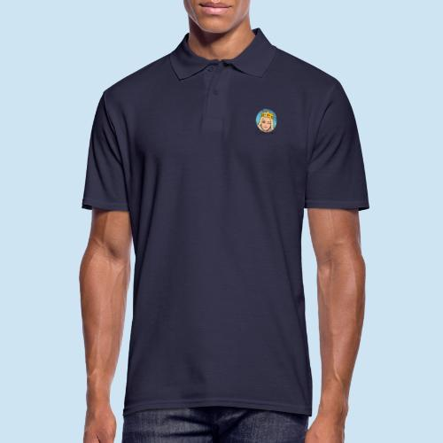 QueeenTran Logo Bitmoji - Poloskjorte for menn