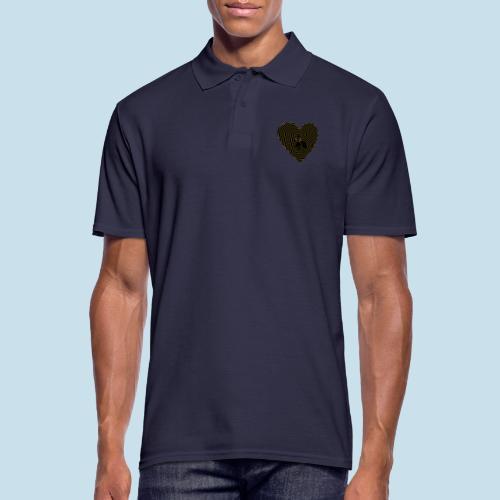 Katzenliebe - Männer Poloshirt