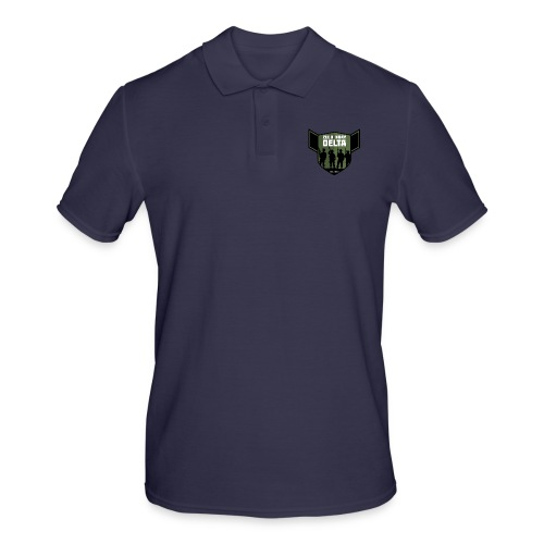 Zulu X-Ray Delta Logo - Men's Polo Shirt