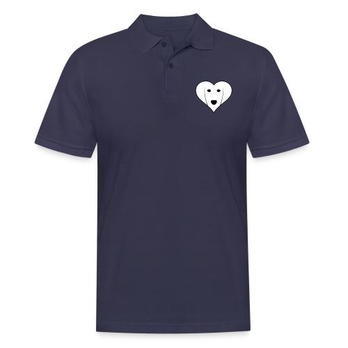 Saluki Heart - Polo da uomo
