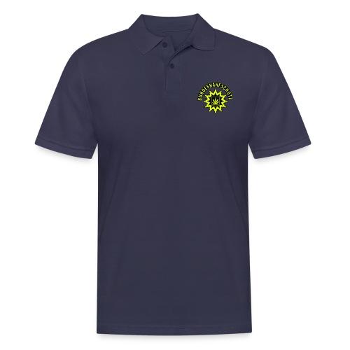 Bundeshanfschutz, simplifiziert, mit Schriftzug - Männer Poloshirt