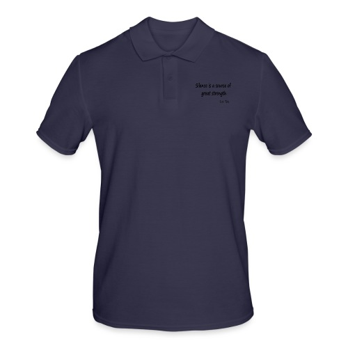 Silence Is a Source of Great Strength - Men's Polo Shirt