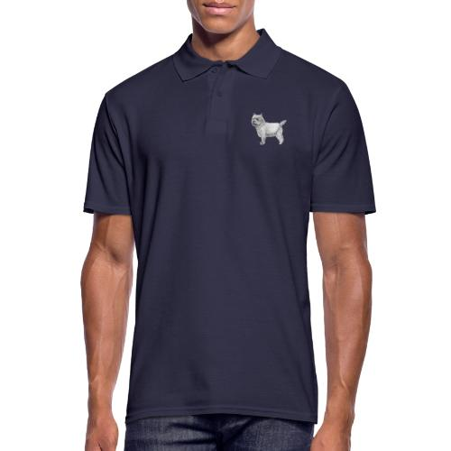 cairn terrier - Herre poloshirt