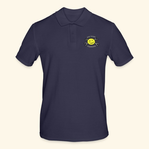 ACID TECHNO PIONEERS - SILVER EDITION - Men's Polo Shirt