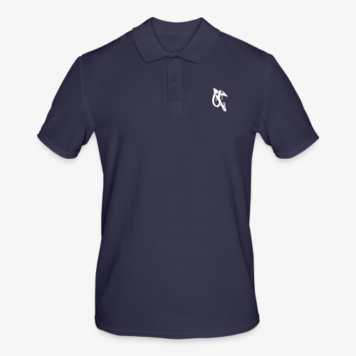 OT logo 1 white - Men's Polo Shirt