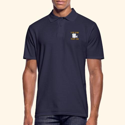 Stop Using Shaky Cam - Männer Poloshirt