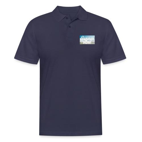 Summervibes - Männer Poloshirt