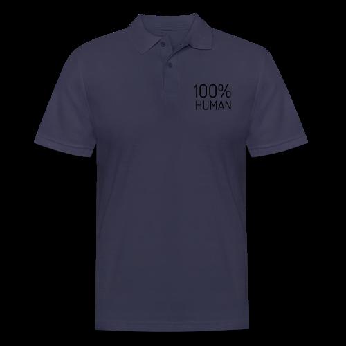 100% Human - Mannen poloshirt