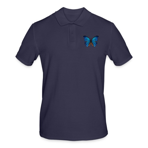 PAPILLON - LOW POLY (Outline) - Polo Homme