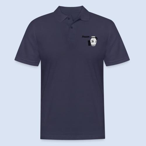 Hessen Bembel Geripptes - Männer Poloshirt