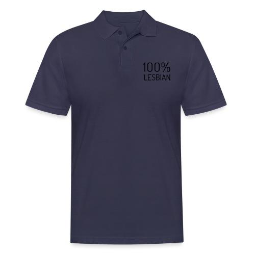 100% Lesbian - Mannen poloshirt