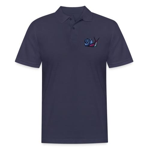 Snegle - Poloskjorte for menn