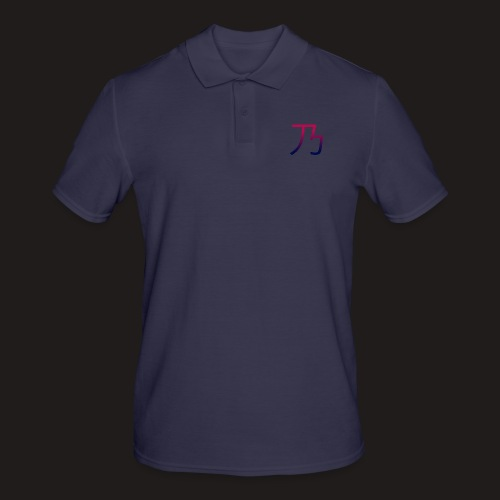 Red & blue B dark - Herre poloshirt