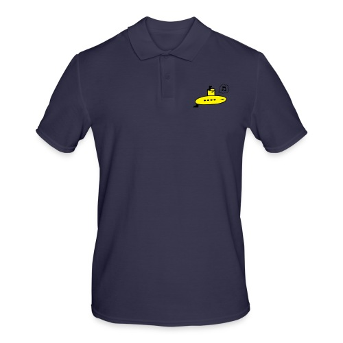 Singing Yellow Submarine - Men's Polo Shirt