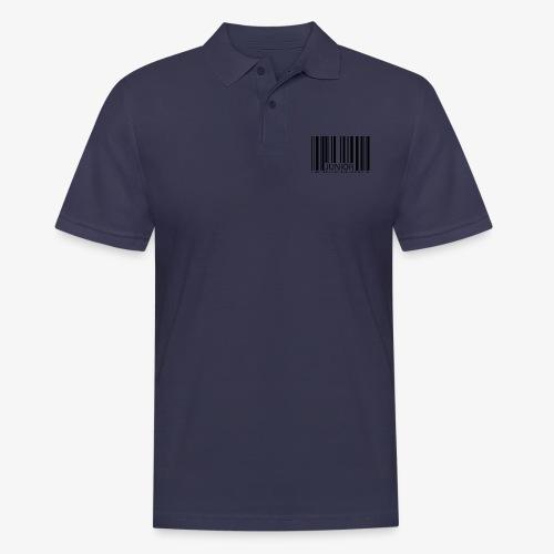 THE BARCODE - Männer Poloshirt