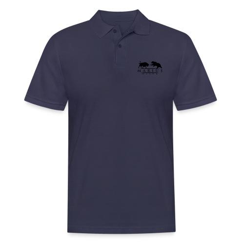 Logo Schwarz Transparent - Männer Poloshirt