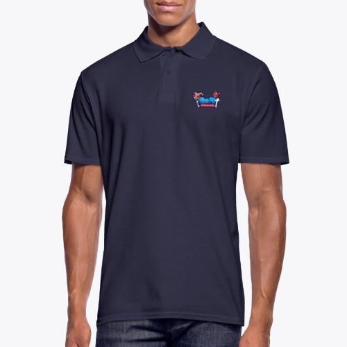 Rise FM Logo - Men's Polo Shirt
