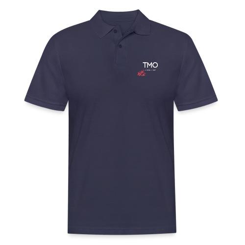 TMO official logo white - Men's Polo Shirt