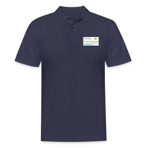 MAUSPAD THANKS FOR 70 subs on YT LUSTAUFWURST - Männer Poloshirt