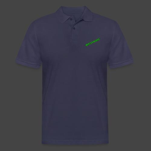 Bassphemie - Neongrün II - Männer Poloshirt