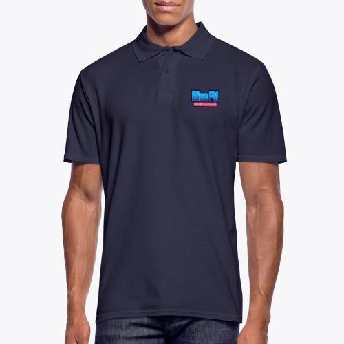 Rise FM Denmark Text Only Logo - Men's Polo Shirt