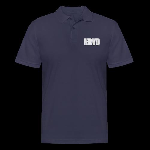 Official Nerved@ White Logotype - Men's Polo Shirt