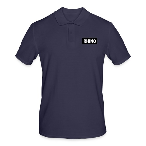 Rhino Logo - Men's Polo Shirt