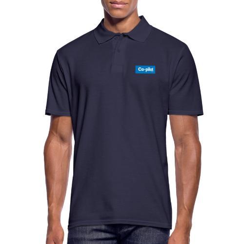 Co-pilot (Blue) - Men's Polo Shirt