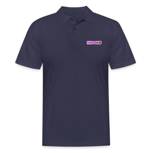 knookie smal logo - Mannen poloshirt