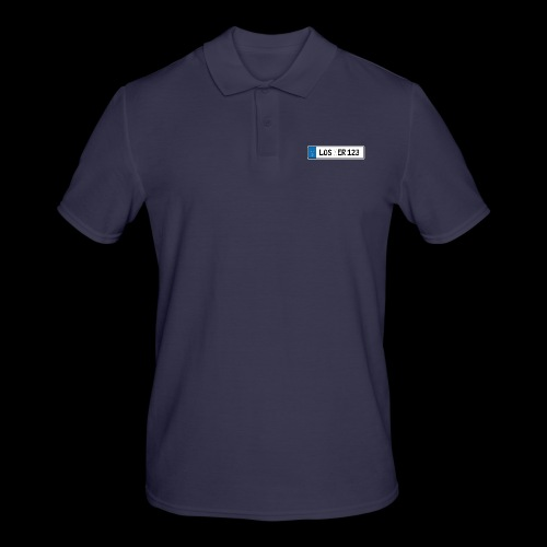 Kennzeichen Loser - Männer Poloshirt