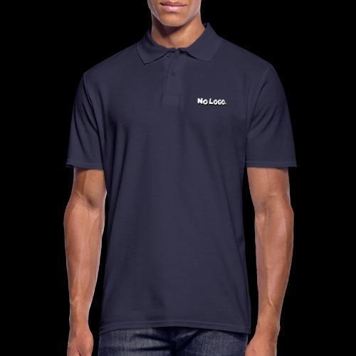 no logo - Männer Poloshirt