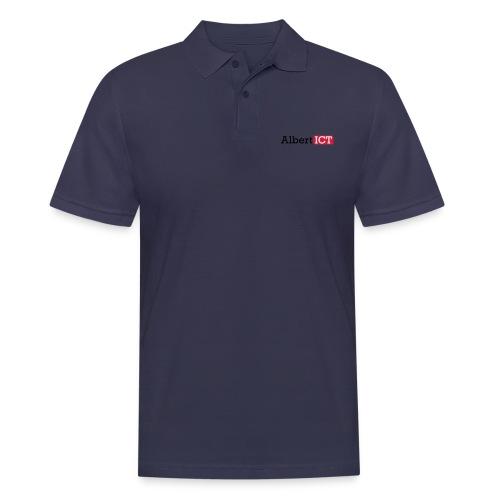 AlbertICT logo full-color - Mannen poloshirt