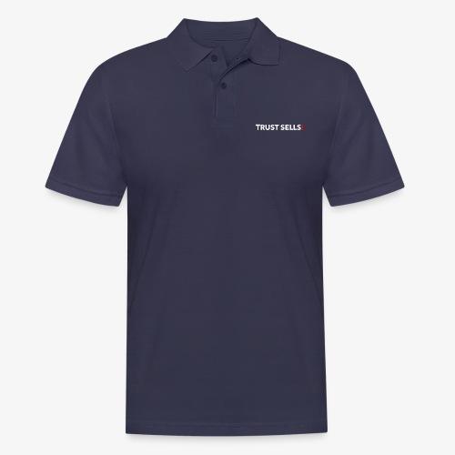 TRUST SELLS - Männer Poloshirt