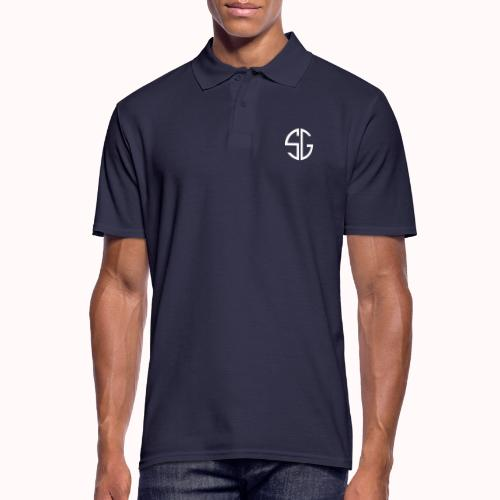 SemGamer log in wit - Mannen poloshirt