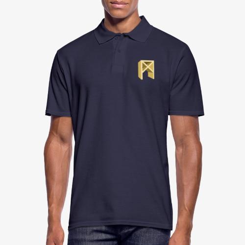 Rune Mannaz - Männer Poloshirt