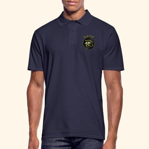 Horus Auge Ägypten - Männer Poloshirt