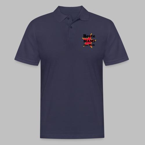 Beste MAMI der Welt - Mit Stern - Männer Poloshirt
