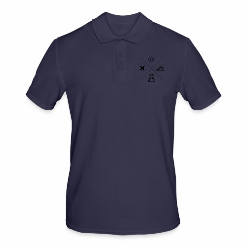 TRAVEL - Männer Poloshirt