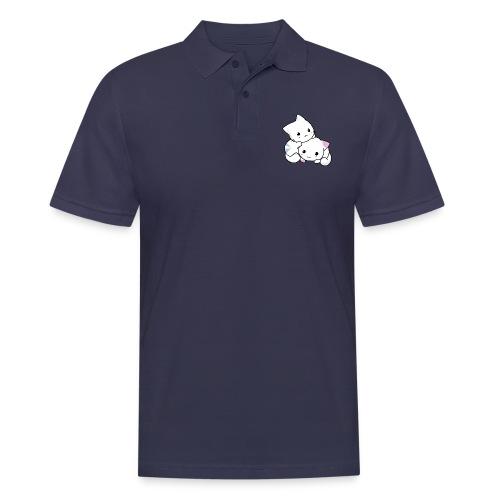 sweet cats - Männer Poloshirt