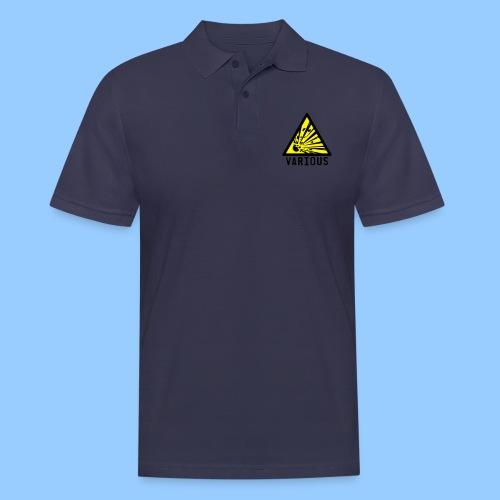 VariousExplosions Triangle (2 colour) - Men's Polo Shirt
