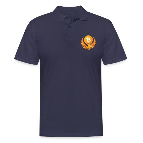 BITCOIN FENIKS - Koszulka polo męska