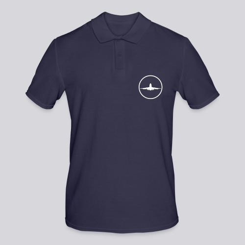 IVAO (White Symbol) - Men's Polo Shirt