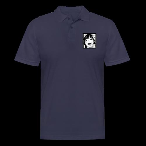 midori kanji - ahegao - Men's Polo Shirt